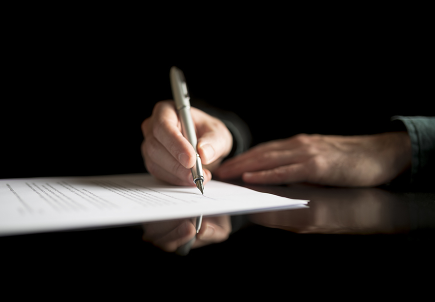 Document signing image