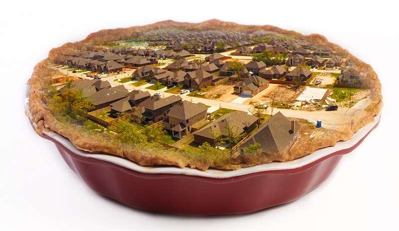 Real estate pie picture