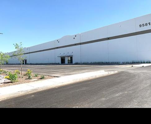 Industrial building in El Paso