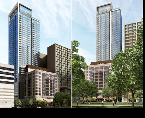 Rendering of Hanover Towers