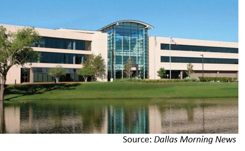 Office building in Irving
