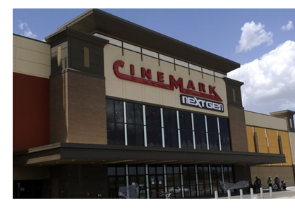 The new Cinemark theatrer in northeast Abilene