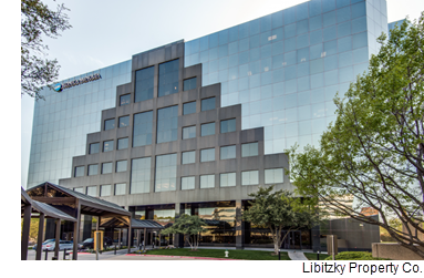 An image of the Landmark building from Libitzky Property Co.