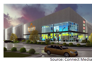 Billings Productions facility rendering