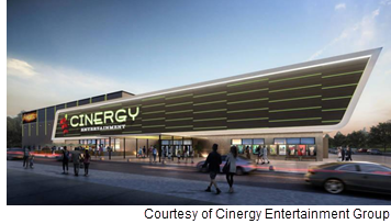 Rendering of Cinergy Entertainment