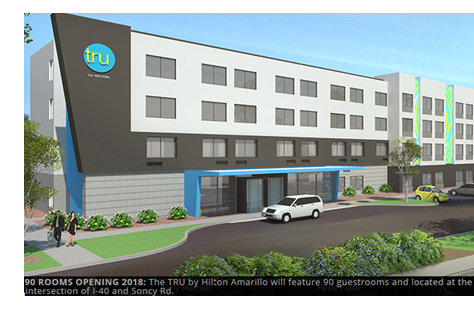 New Tru Hilton hotel in Amarillo breaks ground