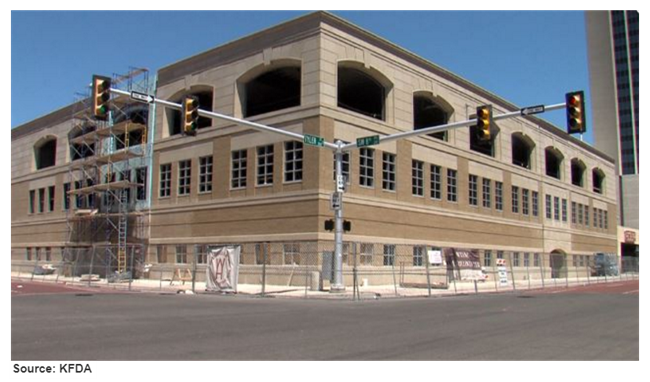 The West Teaxas A&M campus in Amaillo is expanding and remodeling a former commerce building.
