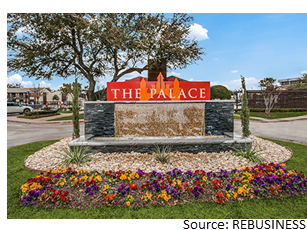 The Palace sign