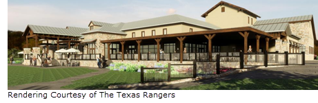 Rendering of Texas Ranger Golf Club Clubhouse