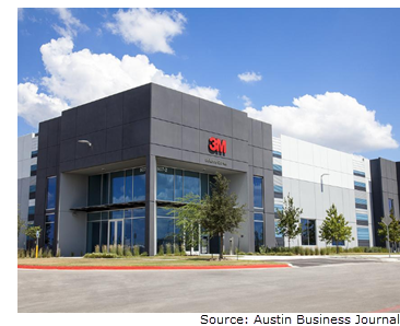3M completes move to Parmer Innovation Center