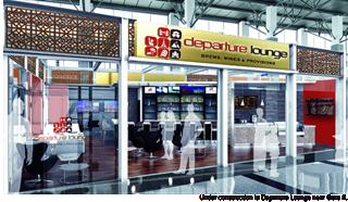 Rendering of Departure Lounge