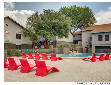 Austin apartment community sold by New York firm
