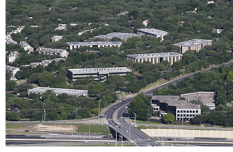 Aerial of Austin Oaks