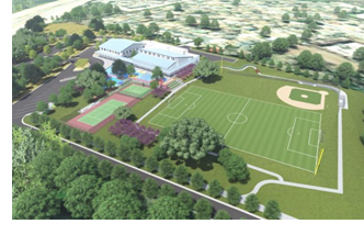 Rendering of new Boys & Girls Club of Austin campus