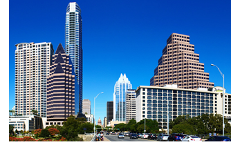 Image of downtown Austin.