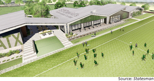 Rendering of St. David's Performance Center