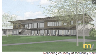 Rendering of country club