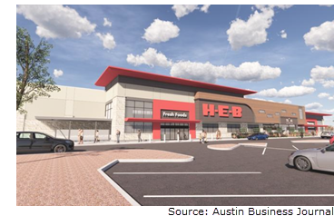 HEB building a new store in Southwest Austin