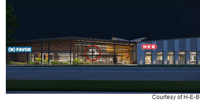 Rendering of new HEB tech facility