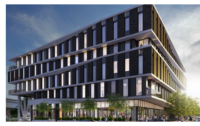 Rendering of Arrive Hotel