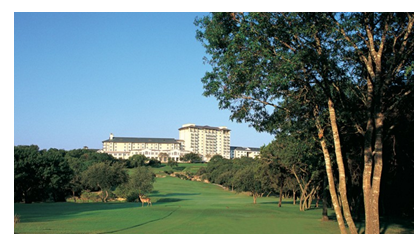 Omni hotel and golf course in Austin