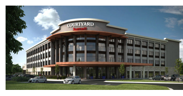 Courtyard Marriott in Pflugerville