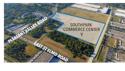 Future site of SouthPark Commerce Center