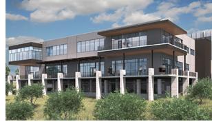 Rendering of Austin Junior League building.