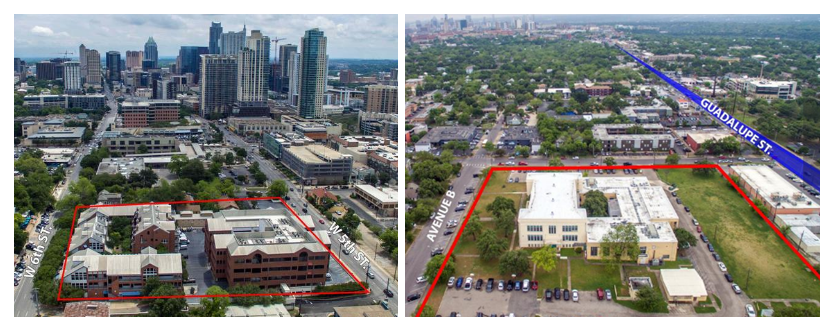 The Austin Independent school district is selling two plots of land to RSI communities.