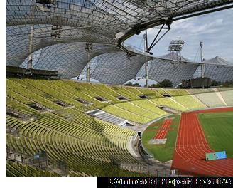 Rendering of soccer stadium