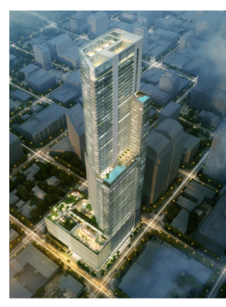 Rendering of new tallest skyscraper in downtown Austin