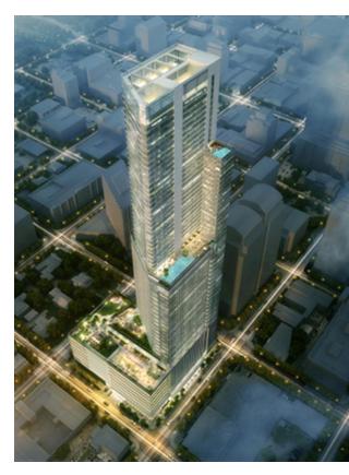 Rendering of new tallest skyscraper in downtown Austin