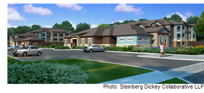 Rendering of Alta Tech Ridge in Austin
