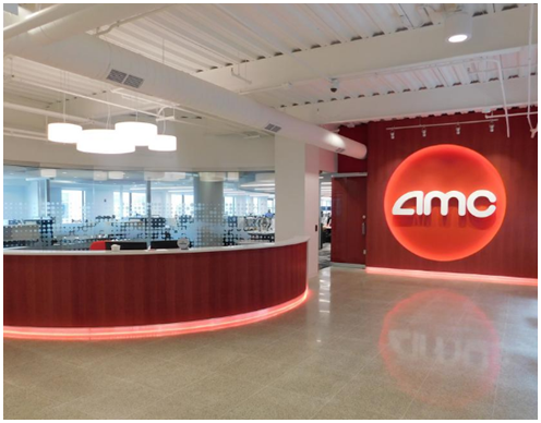 Rendering of AMC Lobby