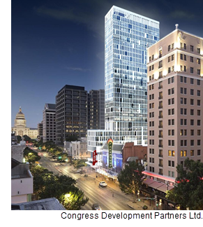 The future of The Avenue hotel on Congress Ave.