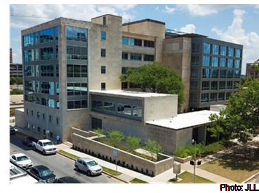 An external view of the Westview Austin