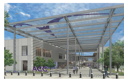 Rendering of Austin Community College Highland Campus