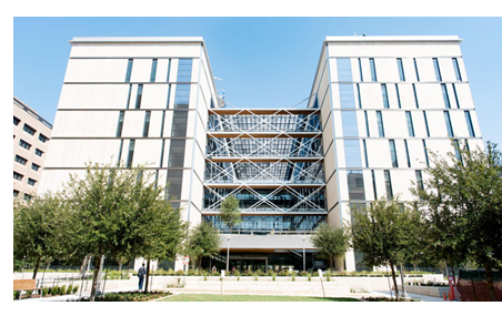 Engineering Education and Research Center in Austin