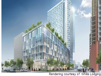 Rendering of Austin Marriott Downtown