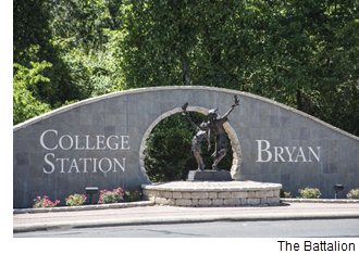 College Station/Bryan sign