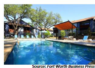 Pool area at The Morgan
