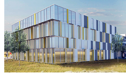 Rendering of the DynaEnergetics facility.