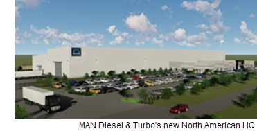 Rendering of Twinwood Business Park.