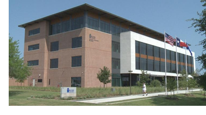 Blinn's new building on the RELLIS campus, just west of Bryan, Texas.