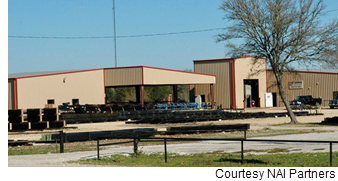 Industrial building sold in Bryan.