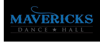 The Mavericks Dance Hall logo.