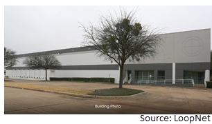 Industrial building at 2908 Commodore Drive in Carrollton