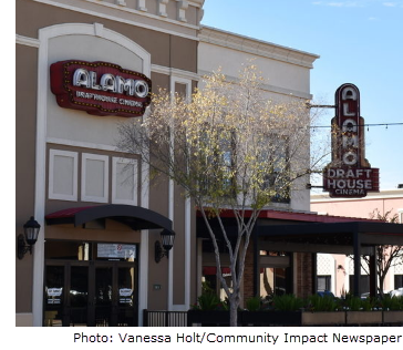 Imagine of the front of a Alamo Drafthouse