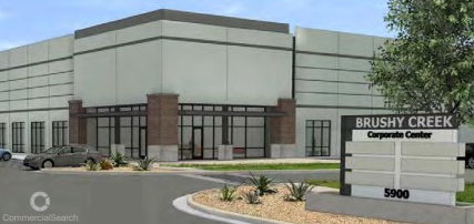 Rendering of Brushy Creek Corporate Center