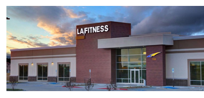 Rendering for LA Fitness in Cedar Park